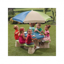 Step2 Picnic Table With Umbrella (Light color)